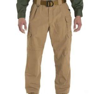 5.11 Tactical 74251 40X32 Khaki Pants EUC